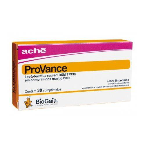 Provance Suplemento Probiótico C/ 30 Comprimidos Mastigáveis