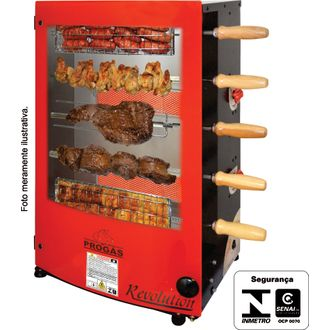 PRR-051 Style Forno Rotativo Industrial - Progas