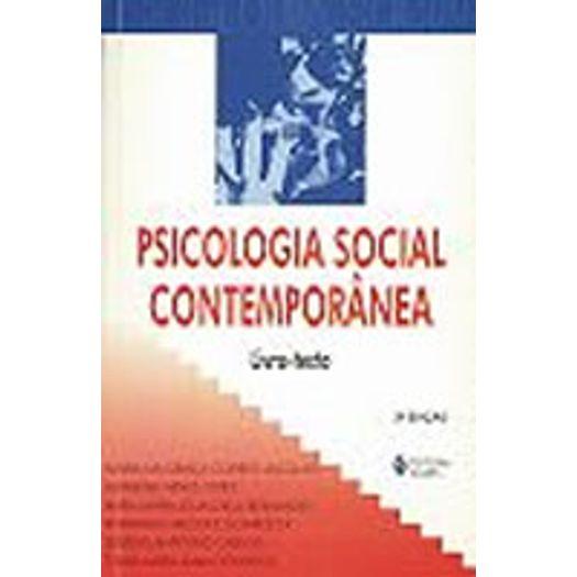 Psicologia Social Contemporanea Livro Texto - Vozes