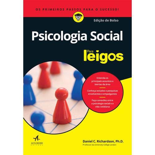 Psicologia Social para Leigos - Altabooks