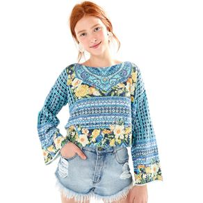 Pull Tricot Tranquilidade Off White - P