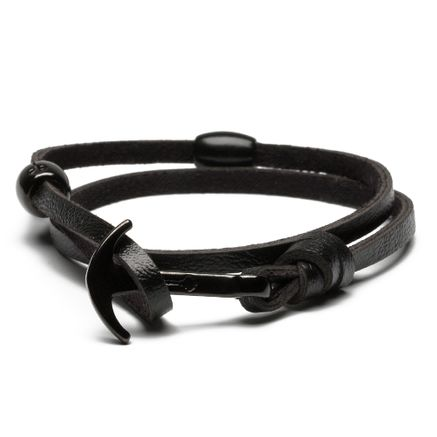 Pulseira Masculina Key Design Anchor - Blackout