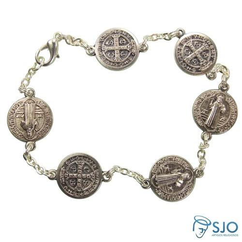 Pulseira Medalha de São Bento | SJO Artigos Religiosos