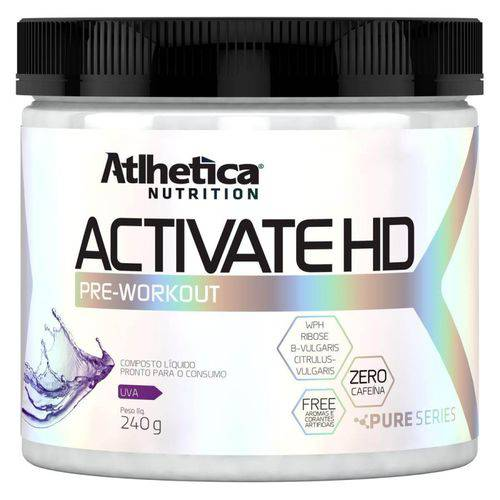 Puries Series Activate HD Rodolfo Peres - 240g Uva - Atlhetica Nutrition