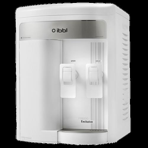 Purificador de Água Exclusive IBBL, 90W, Compressor, Branco - FR600 - 220V