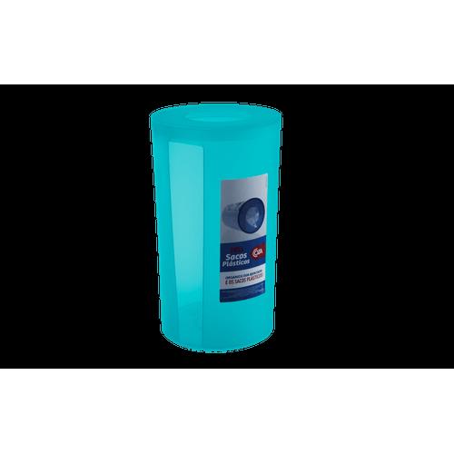 Puxa Sacos Plásticos - Sobre a Pia PP Ø 14,3 X 25,3 Cm Verde Coza