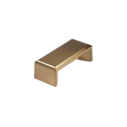 Puxador Creta 64mm Gold Escovado