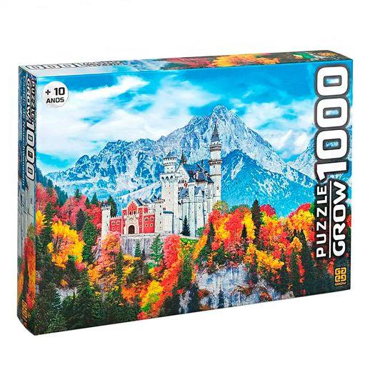 Puzzle 1000 Peças Castelo de Neuschwanstein - Grow