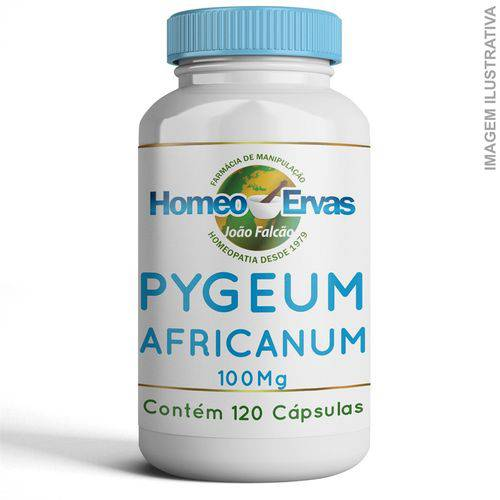 Pygeum Africanum 100mg 120 Cápsulas