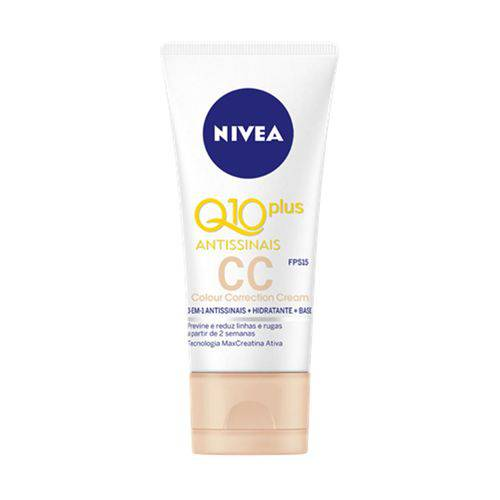 Q10 Plus Antissinais Cc Cream Nivea Fps 15