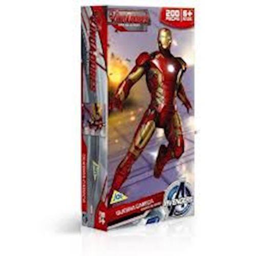 Qc 200Pc os Vingadores - H.De Ferro e Hu