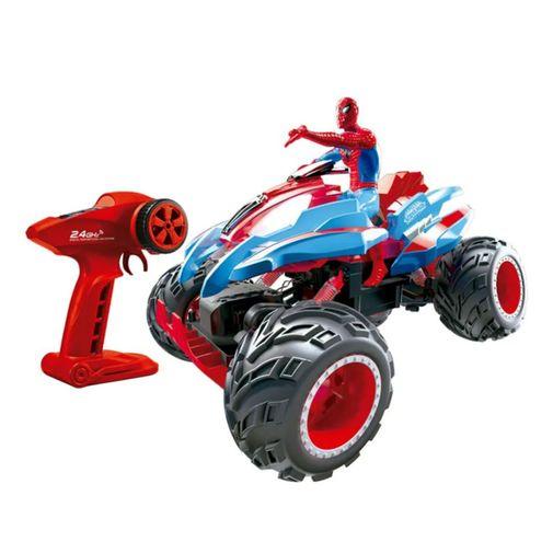 Quadriciclo de Controle Remoto Action Crawler Homem Aranha 7 Funções - Candide