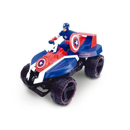 Quadriciclo de Fricção Marvel Avengers Capitão América - Toyng