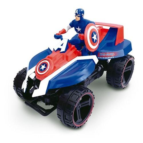 Quadriciclo Fricção Capitão América Toyng