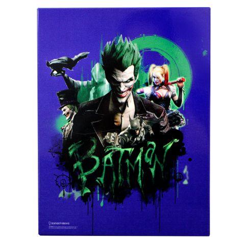 Quadro Batman Arkham 3 26x19cm