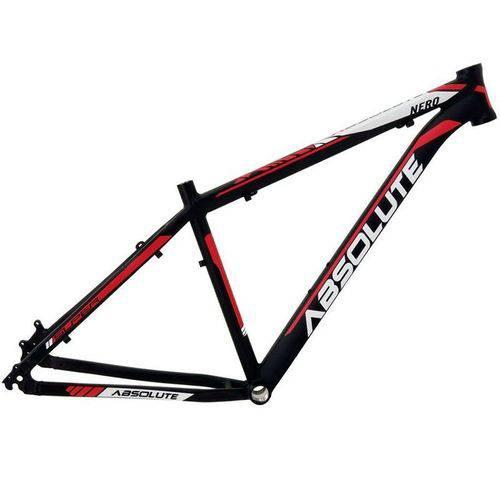 Quadro Bicicleta MTB 29 Absolute Nero II PRETO/VERMELHO