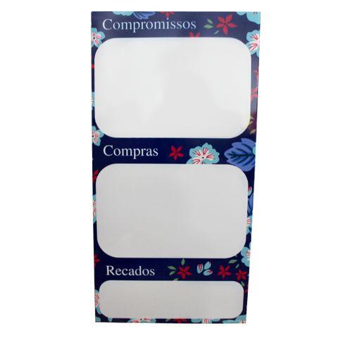 Quadro C/caneta Lista de Compromissos