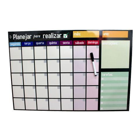Quadro C/caneta Planejar para Realizar