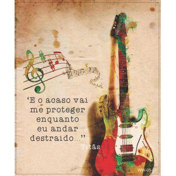 Quadro Cartão Papel Mdf - Music (sort)