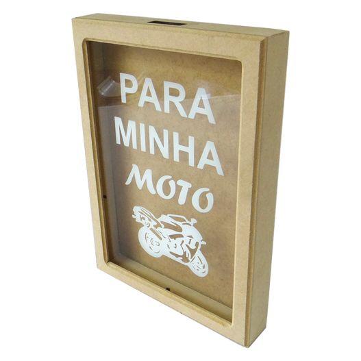 Quadro Cofre Adesivado - Moto