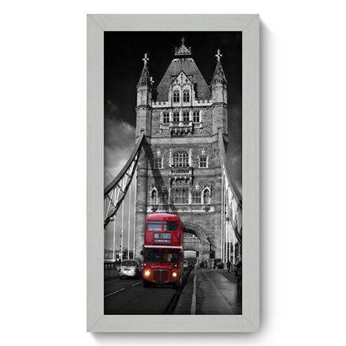 Quadro com Moldura - 19x34 - London Bridge - N1001