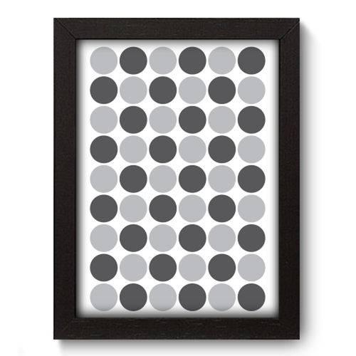 Quadro com Moldura - 19x25 - Bolas - N3018