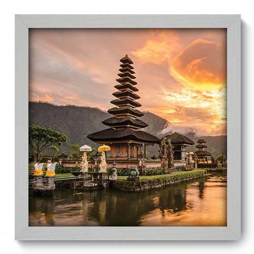 Quadro com Moldura - 33x33 - Bali - N1063