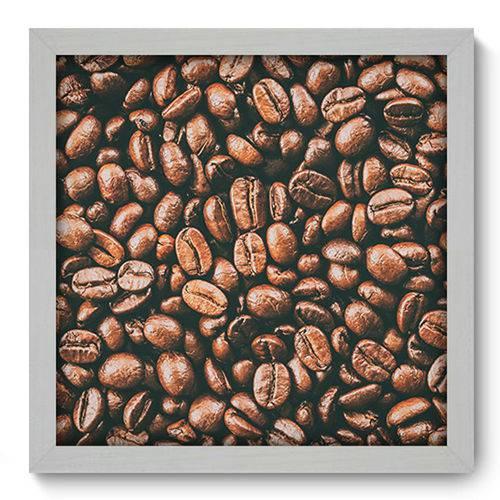 Quadro com Moldura - 33x33 - Café - N1218