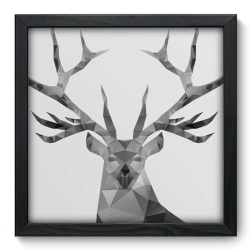 Quadro com Moldura - 33x33 - Deer - N3044