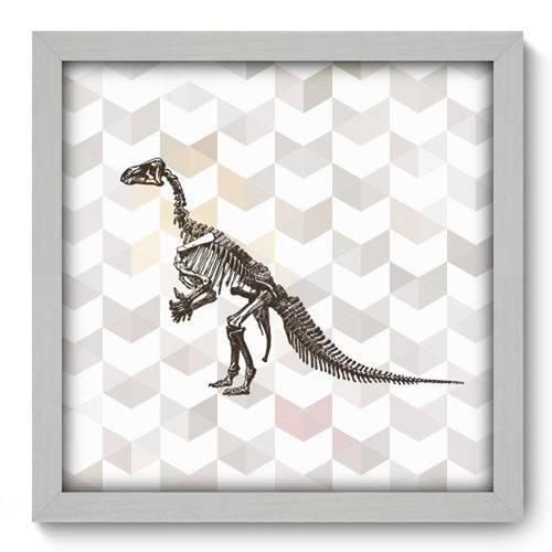 Quadro com Moldura - 33x33 - Dinossauro - N1066