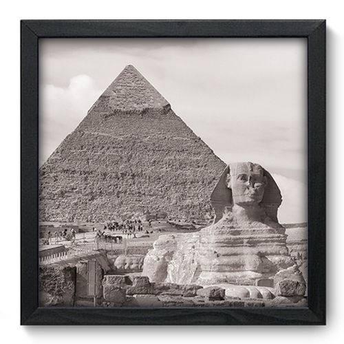 Quadro com Moldura - 33x33 - Egito - N3179