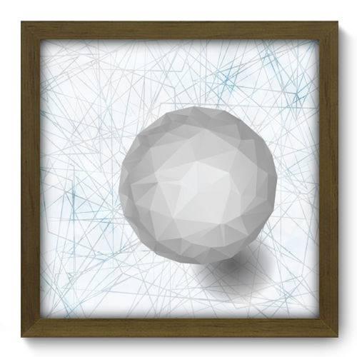 Quadro com Moldura - 33x33 - Esfera - N2021