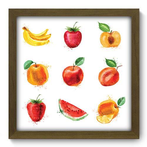 Quadro com Moldura - 33x33 - Frutas - N2131