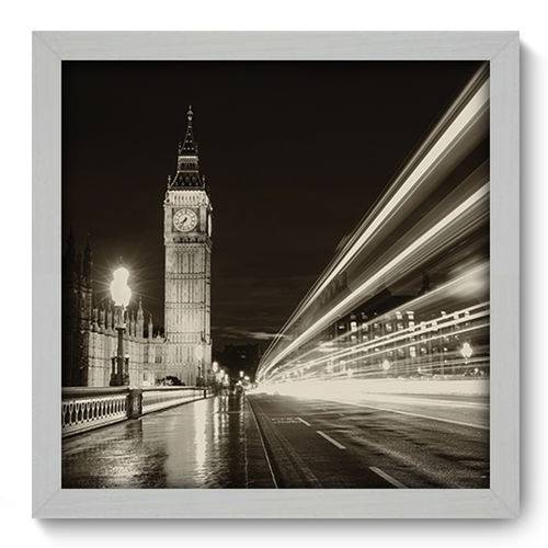 Quadro com Moldura - 33x33 - Londres - N1064