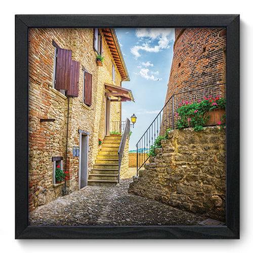 Quadro com Moldura - 33x33 - Toscana - N3086