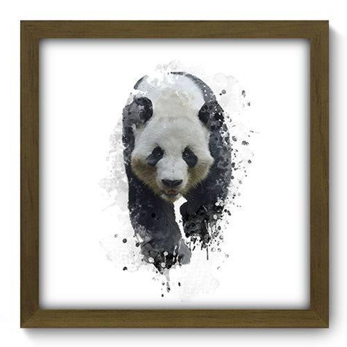 Quadro com Moldura - 33x33 - Urso Panda - N2114