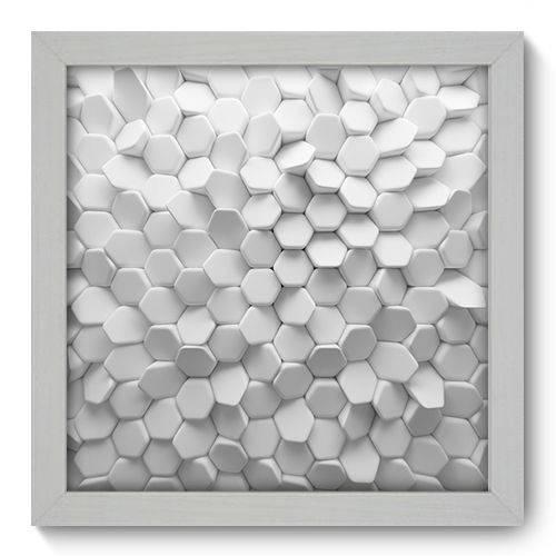 Quadro Decorativo - Abstrato - 22cm X 22cm - 005qnaab