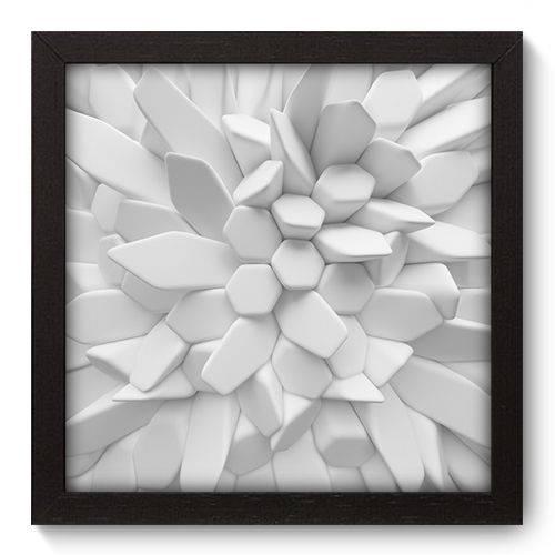 Quadro Decorativo - Abstrato - 22cm X 22cm - 007qnaap