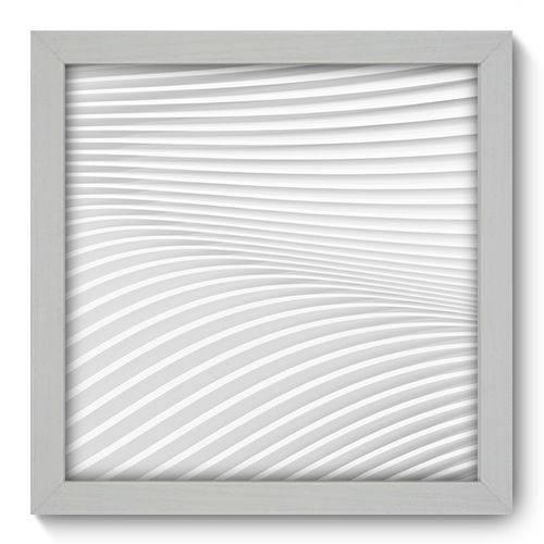 Quadro Decorativo - Abstrato - 22cm X 22cm - 014qnaab