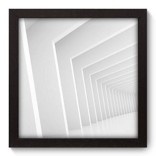Quadro Decorativo - Abstrato - 22cm X 22cm - 017qnaap