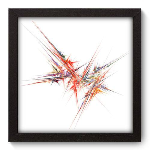 Quadro Decorativo - Abstrato - 22cm X 22cm - 043qnaap