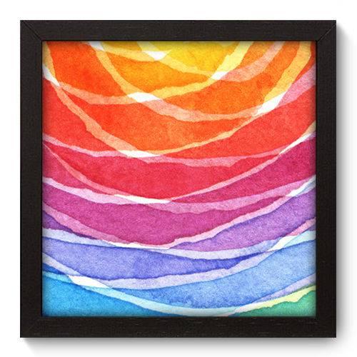 Quadro Decorativo - Abstrato - 22cm X 22cm - 042qnaap