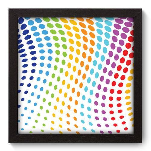 Quadro Decorativo - Abstrato - 22cm X 22cm - 050qnaap
