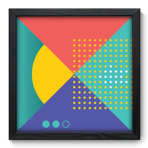 Quadro Decorativo - Abstrato - 33cm X 33cm - 060qnabp