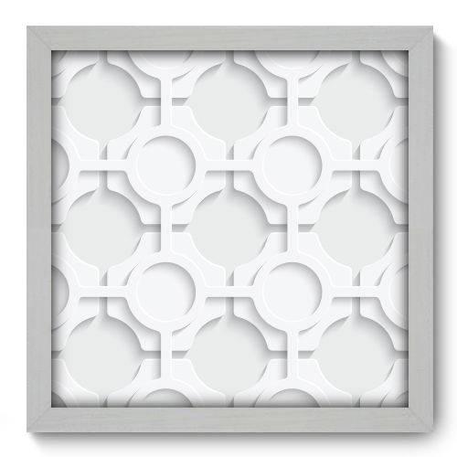 Quadro Decorativo - Abstrato - 33cm X 33cm - 068qnabb
