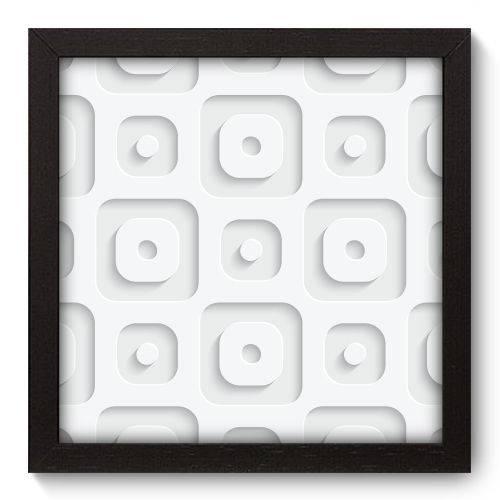 Quadro Decorativo - Abstrato - 22cm X 22cm - 069qnaap
