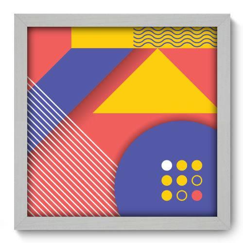 Quadro Decorativo - Abstrato - 33cm X 33cm - 062qnabb
