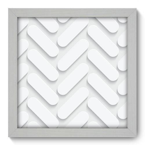 Quadro Decorativo - Abstrato - 22cm X 22cm - 070qnaab