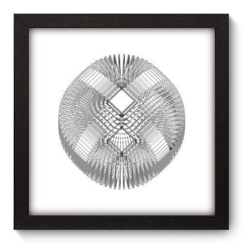 Quadro Decorativo - Abstrato - 22cm X 22cm - 088qnaap