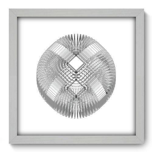 Quadro Decorativo - Abstrato - 33cm X 33cm - 088qnabb